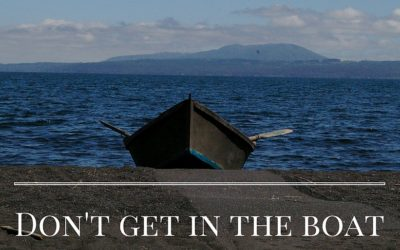 Don't Get In The Boat